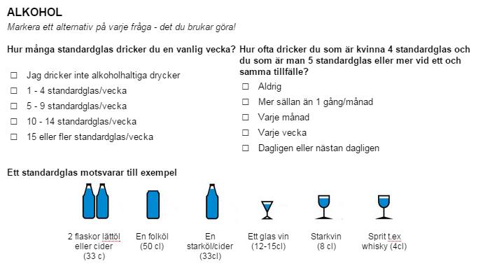 Alkoholvanor